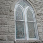 I like going into old churches and looking at their windows.