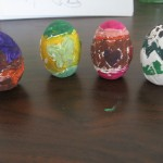 Painted eggs. Woot! Woot!