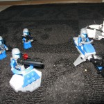 Star Wars Lego Action Scene I
