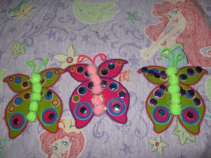 Their butterflies. (living) :-)