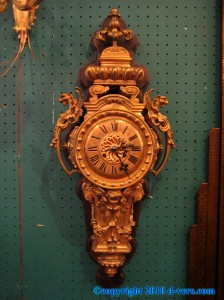 Louis-XVI-Wall-Clock-Gilded-French
