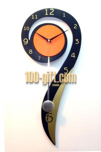 Number_9_Wall_Clock