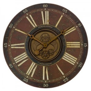 Wall-Clock-This-is-a-wonderful-art-antique-flavor