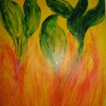 """Fireness"" by Mommy (Title by Ariel)"