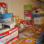 Mess of boxes I
